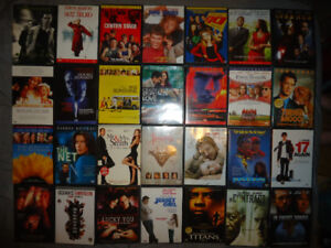 LOTS AND LOTS OF DVDS