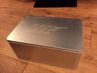 The James Bond Collection- 20 disc DVD box set limited edition aluminium case