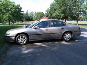 Chevrolet Impala 2002 bonne condition