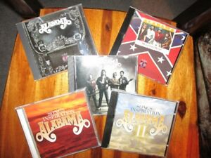 ALABAMA - 5 CD Country and Gospel Collection