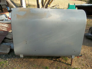 OUT DATED OIL TANK