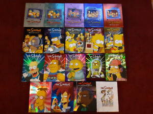 Simpsons Completes Box sets