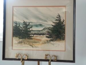 Oiriginal Watercolour Paiinting by Listed Artist Brian Atyeo