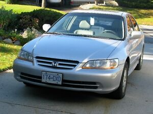 2001 Honda Accord Sedan