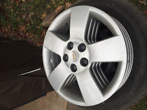 GM factory steel rims with wheel covers Peterborough Peterborough Area image 2