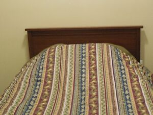 Twin Size Bed with 2 Dressers for Sale