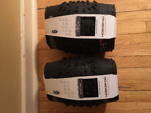 45 North Husker Du 120 tpi tubeless folding tires X 2