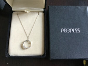 Ring, and necklace