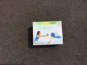 Yoga. Ball and bands. NEW