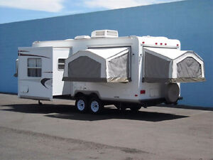 TRAILER FOR RENT-WE CAN DELIVER-SLEEPS 8-COMES COMPLETE
