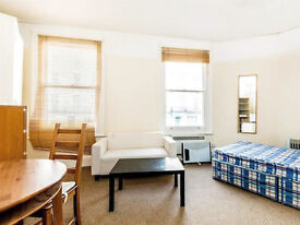 Bright, self-contained studio, situated on a second floor of a period conversion in Notting Hill.