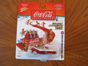 coca-cola Christmas ornament johnny lightning
