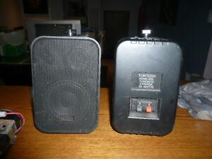 Tortech wall mount speakers
