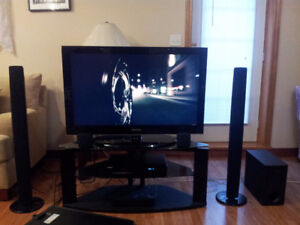 "Samsung 40"" LCD w/ Samsung 5.1 Surround Sound & Matching Stand"