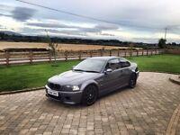 BMW E46 M3 Steel Grey - Full History - £6500 - [NOT Audi A4, S4, S3, Evo, Silvia, Skyline, Civic ]