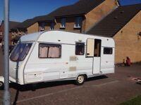 5 berth caravan £1950