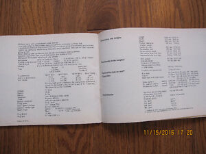 1968 1500 Karmann Ghia Owners Manual Sarnia Sarnia Area image 6