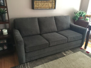 Sofa Bed with Simmons Pocket coil queen mattress