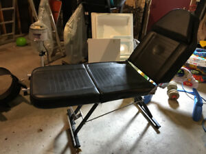 Facial streamer, massage bench,Manicure  table