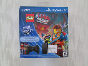 BRAND NEW SEALED SONY PLAYSTATION TV LEGO BUNDLE CONTROLLER