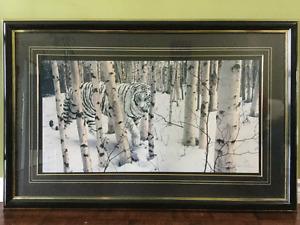 "Robert R.Copple Framed print 44""x28"