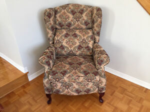 Bergère inclinable