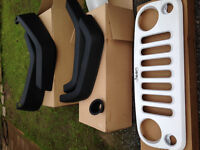 Grille et Ailes Jeep Wrangler 2015