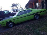 Dodge demon 1972 clone