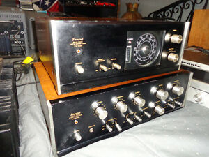 Vintage Sansui amp and tuner