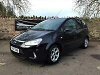 Ford C-MAX 1.6 16v 2007 Zetec Petrol Manual MPV in Black