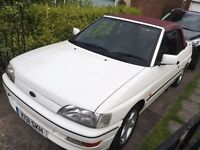 Ford escort xr3i cabriolet 12 mot bargain 1993 k