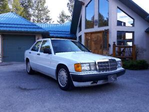Original owner, excellent condition 190E