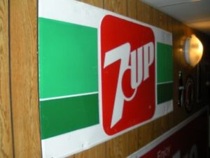 7-up large sign-Reduced last price