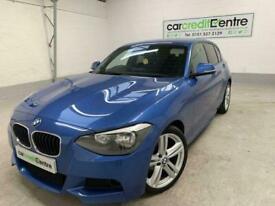 image for *buy now from £45 per week* BLUE BMW 1 SERIES 2.0 118D M SPORT 5D 141 BHP DIESEL
