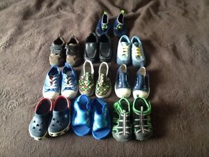 Assortment of boys shoes size 8 & 9