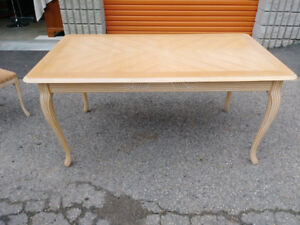 Solid Wood Dining  Table + Free Delivery