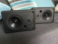 Maudaunt short speakers x 2