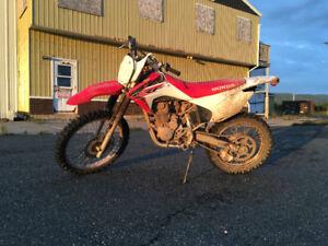 New Honda Dirtbike