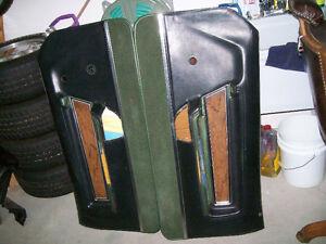 Panneaux de portes Deluxe Mustang 1971, 1972, 1973