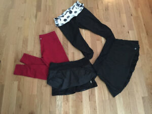 Lululemon Bottoms: Skort, Capri & Shorts