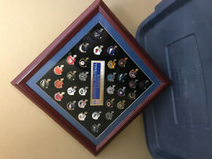 Unique collection of official NFL pins