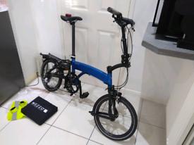 Mezzo D9 folding bike