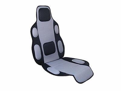 Sitzauflage Sitzbezug Sitzschoner von Automax grau schwarz Auto PKW KFZ Bus Van