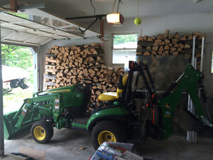 Yard Work's a Breeze - John Deere Compact Utility Tractor