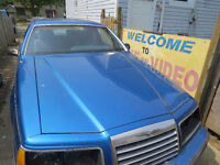 85 Thunderbird for parts or whole