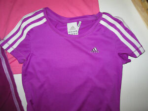 Girls Clothing Lot #4 - size 6/7 Adidas in Purple Belleville Belleville Area image 2