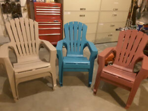 Outdoor Plastic Patio Chairs