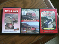 CP and CN Thompson CanyonTrain DVD's