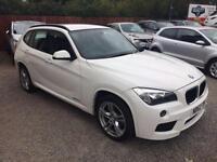 2012 62 BMW X1 2.0 SDRIVE20D M SPORT 5D 181 BHP DIESEL