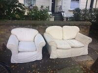 FREE Sofa & Chair (2 seater & single seater)